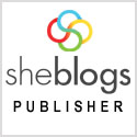 She Blogs Media Publisher Badge