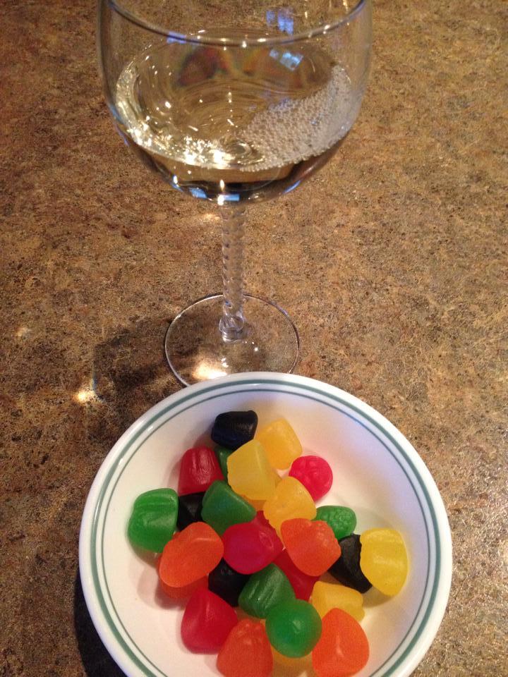Wine and jujubes