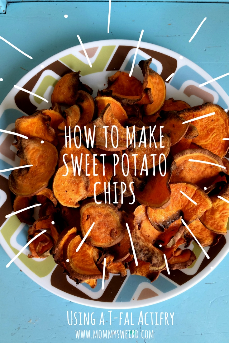 How To Make Sweet Potato Chips in T-Fal Actifry