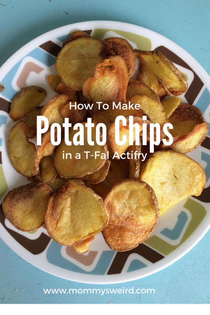 T-Fal Actifry Potato Chips