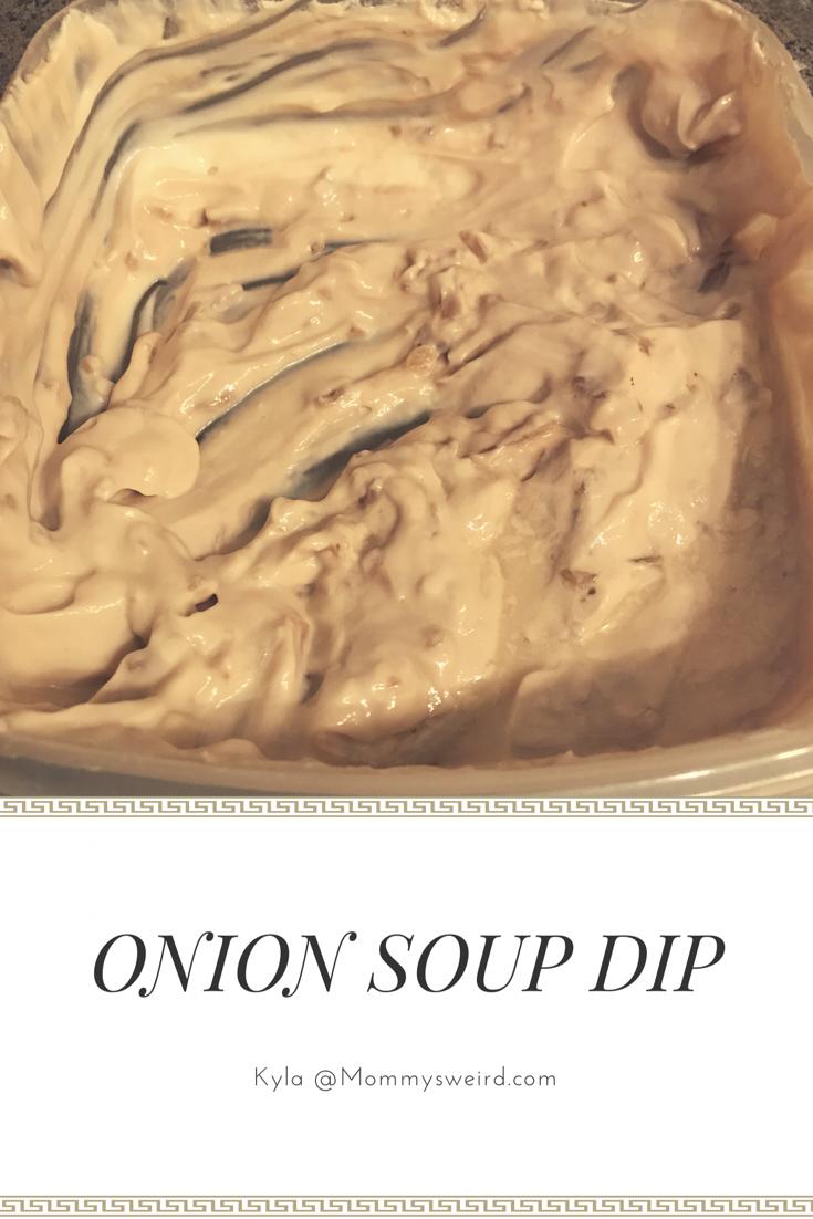 onion soup dip