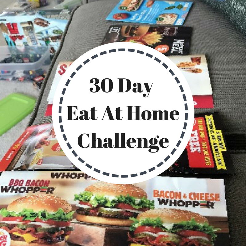 30 Day Eat At Home Challenge