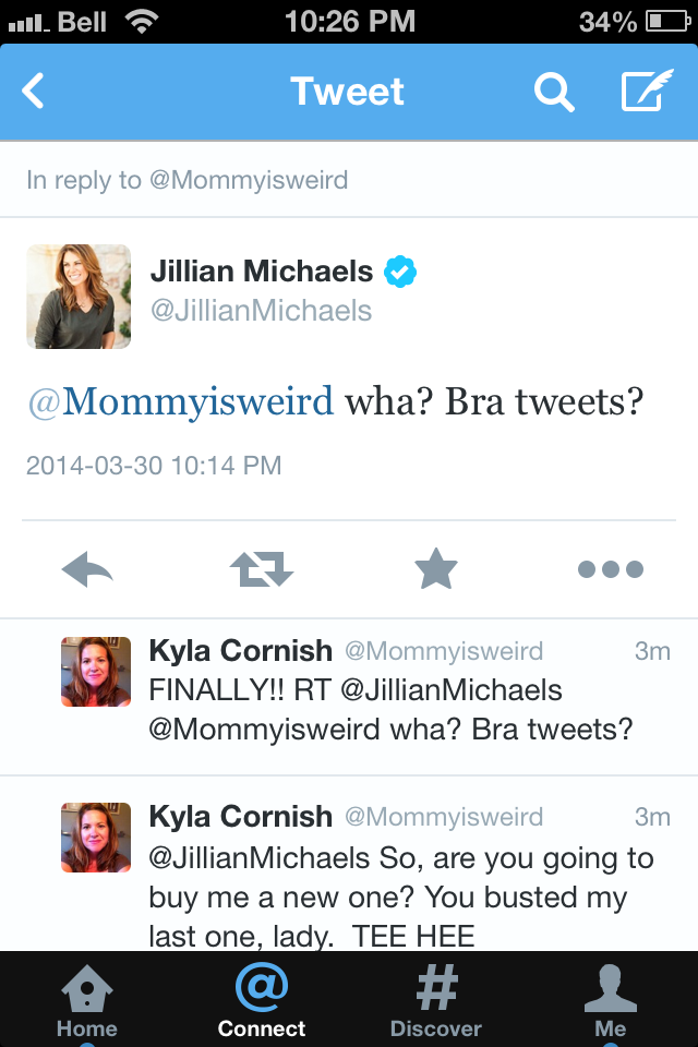Jillian Tweet 2