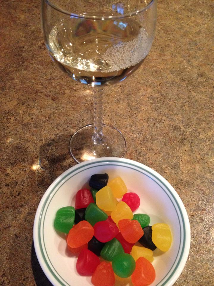 Wine and jujubes