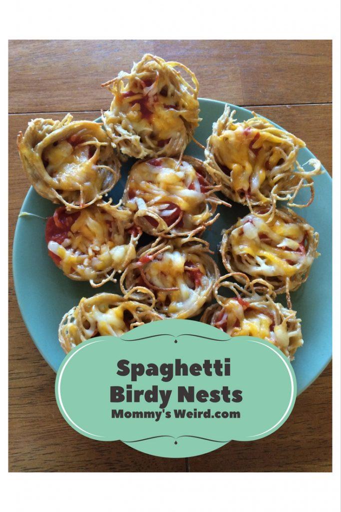 Spaghetti Birdy Nests