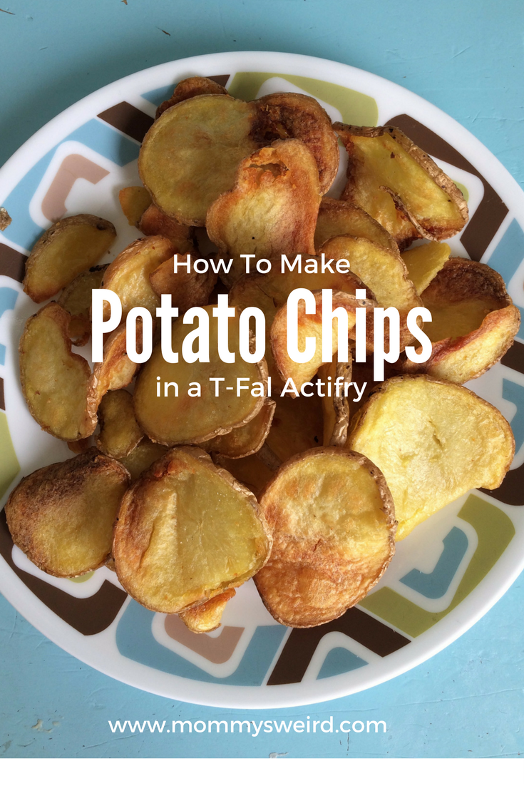 T Fal Actifry Potato Chips Mommys Weird Parenting Recipes And
