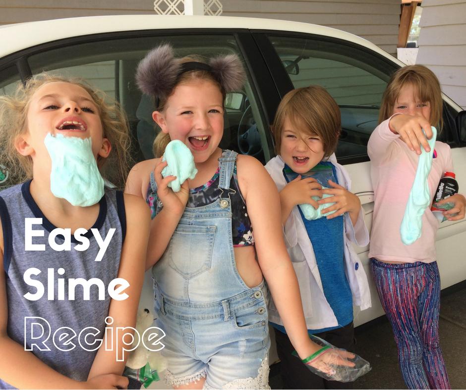 Easy Slime Recipe